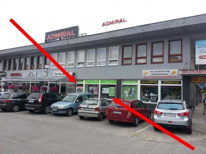 Košice, Trieda SNP 88 (Oriflame)