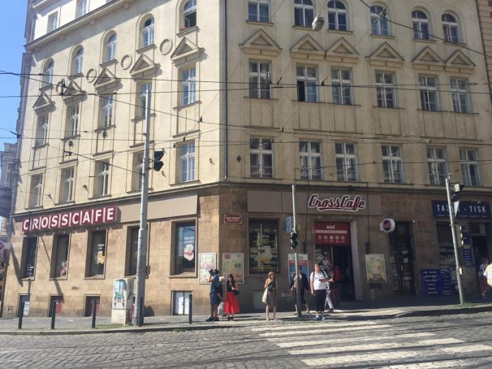 CrossCafe Strossmeyerovo náměstí