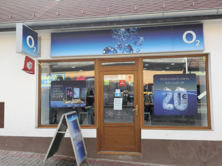 O2 Predajňa