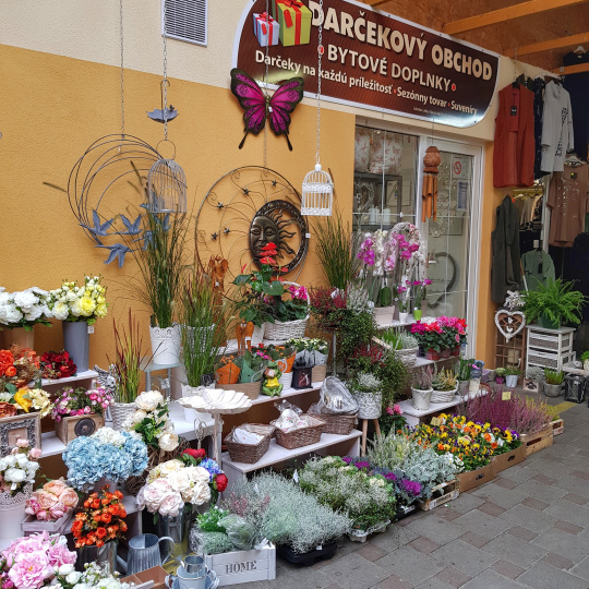 Darčekový obchod a kvety