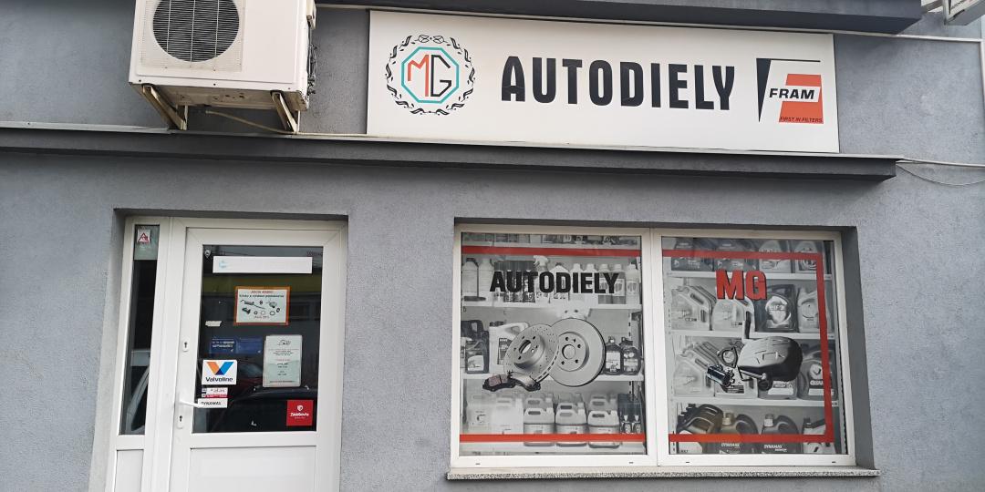 Autodiely MG Fram