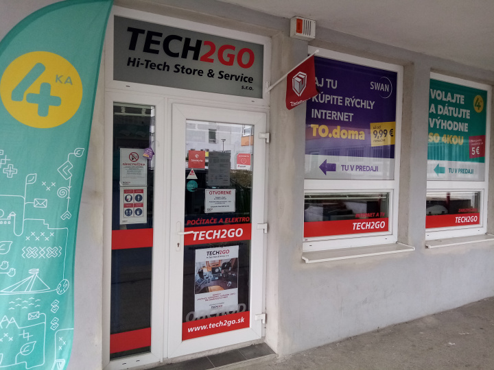 TECH2GO Hi-Tech Store & Service s.r.o.