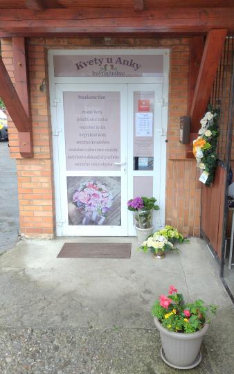 Kvety u Anky