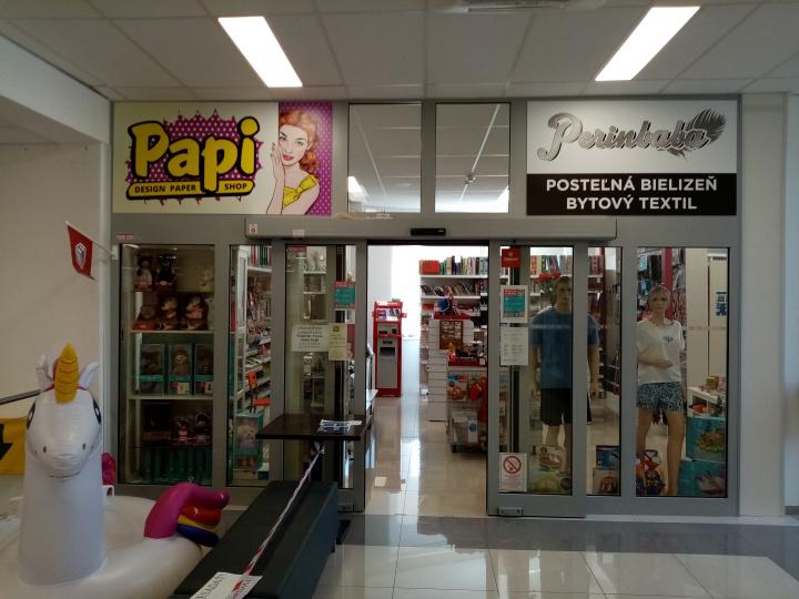 PAPI papiernictvo a darčeková predajňa