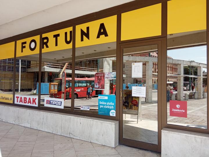 Fortuna - stávková kancelária