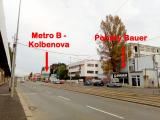 Praha 9, Kolbenova (metro B), Kolbenova