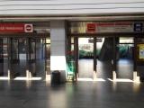 Praha 7, Nádraží Holešovice (metro C), vestibul stanice