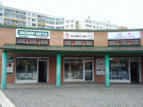 Praha 13, Lužiny (metro B), Rondo Lužiny, Obuv Grubin