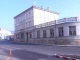 Děčín,  Benešovská, vchod z Kamenické